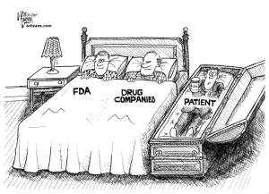 FDA in bed with drug companies